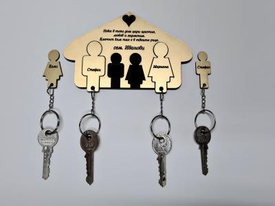 Семейни ключодържатели цена: 25.00