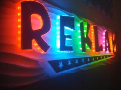 Обемни букви - светещи