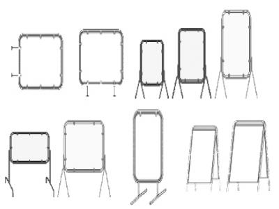 Метални табели видове