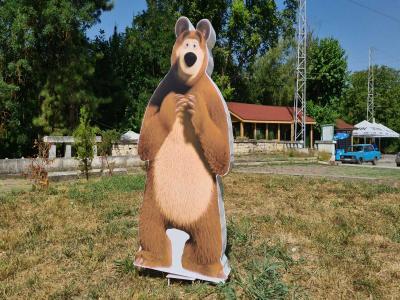 Маша и мечока 3Д фигури от пластмаса и стиропор цена: 80.00