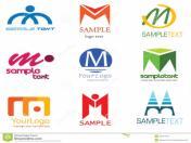 Буквено лого