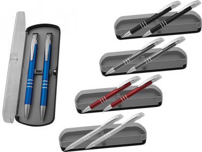 PPB-006+MP-7082+ AMP-7082  Химикалка и авт. молив в пластмасова кутия