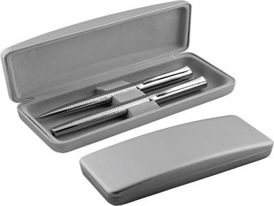 MPB-006+MP-7087+MP-7087R  Химикалка и ролер в кожена кути