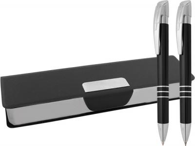 MPB-014+MP-7082+MP-AMP-7082  Химикалка и ролер в кожена кутия
