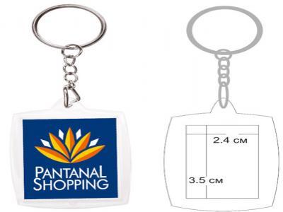 PKCH-1002A  Пластмасов ключодържател с капак