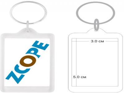 PKCH-10013  Пластмасов ключодържател с капак