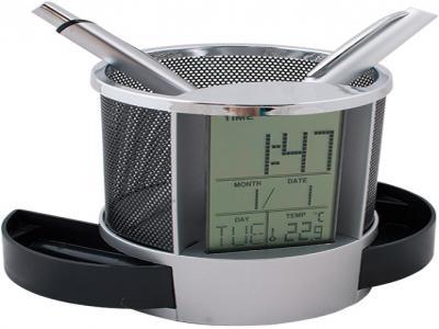 DSC-001  Настолен часовник 11 см, Ø8 с