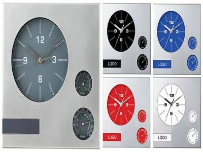 LC-6314  25/25 см Стенен часовник с термометър и хидрометър
