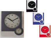WLC-6922  25/30 см Стенен часовник с термометър
