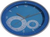 WLC-6910  Ø23.5 см Стенен часовник с термометър и хидрометър