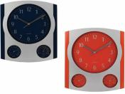 WLC-7905  29/35 см Стенен часовник с термометър и хидрометър