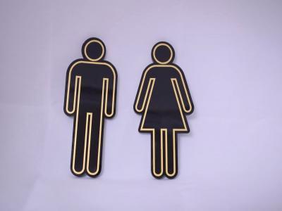 Табелки за тоалетна-2 фигурки цена: 10.00