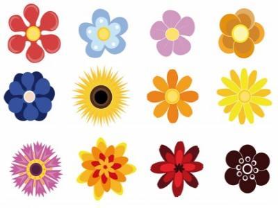 Маникюр Цветя 2    6/7см цена: 2.50