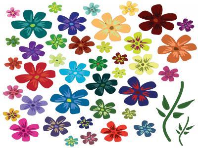 Маникюр Цветя 5    6/7см цена: 2.50