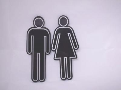 Табелка за тоалетна-2бр. фигурки цена: 10.00