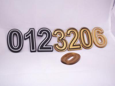 Цифри плексиглас - 1бр. цена: 5.00