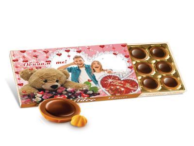 Бонбони Тофифи с ваша снимка. Оригинален подарък за влюбени