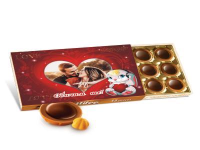 Бонбони - оригинален подарък за влюбени