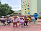 Рекламни букви и надписи за детски градини и детски ясли Еделвайс Етрополе