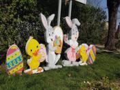 Украса за Велик ден - яйца, патета, зайци
