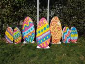 Фигури и декорация за Велик ден - зайци, патета, яйца, миньони